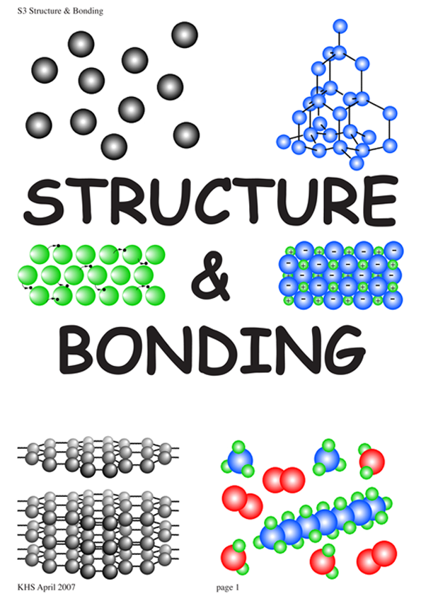 Chemical+Bonding+and+Structure Structure Bonding 1